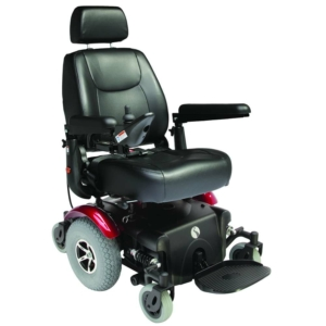 Rascal P327 Powerchair - Red
